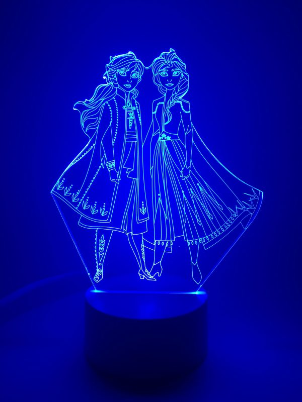 Frozen II Multi-Coloured Led Night Light