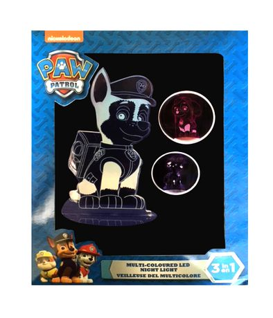Paw Patrol Multi-Coloured Led Night Light