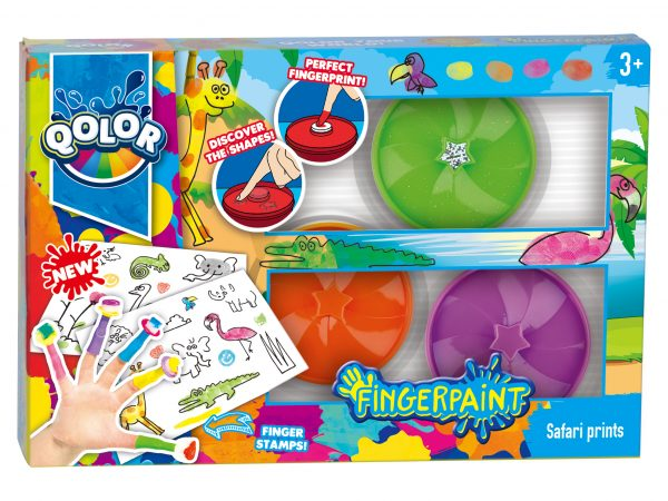 QOLOR Fingerpaint Safari prints