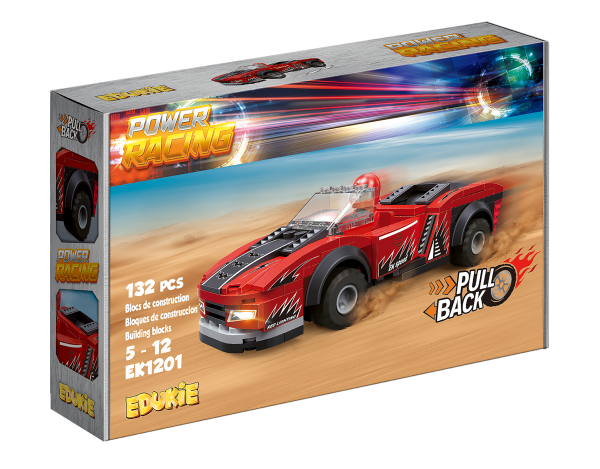 Edukie Power Racing Flamme Rouge