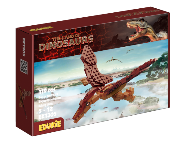 Edukie The Land of Dinosaurs Pterodactyl