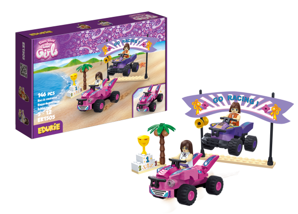 Edukie World Cool Girls Beach quads