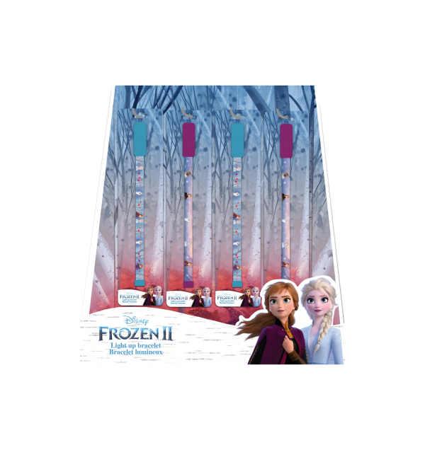 Frozen II Light Up Bracelet Display