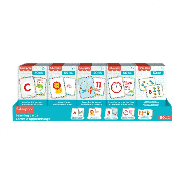 Présentoir Cartes d'apprentissage Fisher-Price